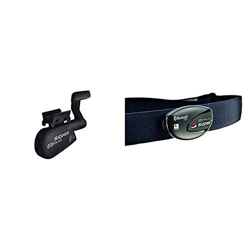 Sigma Sport Zubehör, R2 Duo Speed/Cadence Combo Sender (Ant+/Bluetooth Smart) & Sport Zubehör, R1 Duo Herzfrequenz Sender (ANT+/Bluetooth Smart) inkl. COMFORTEX+