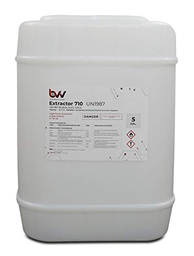 "BVVâ""¢ Ultra High Purity 710 Extraction Solvent - CDA 12-A-5 Gallon"