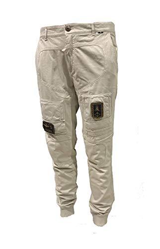 Aeronáutica Militar – Pantalón de sudadera PF743 Anti-G, 57413, color arena, para hombre 57413 Sabbia XX-Large