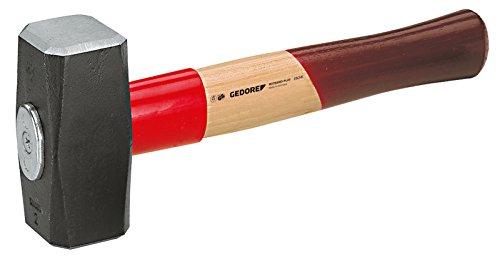 GEDORE 620 E-2000 Fäustel ROTBAND-Plus mit Eschenstiel, 2000 g