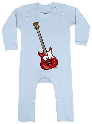 Hariz - Pelele para bebé, guitarra eléctrica, instrumento de sonrisa para niños,...