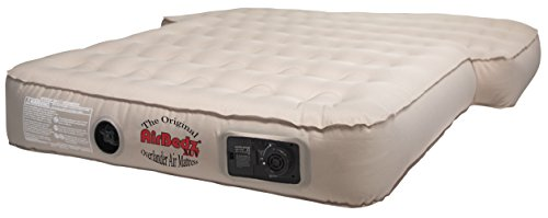 Pittman Outdoors AirBedz PPI XUV Tan Jeep, SUV and Crossover Vehicle Rear Seats Mattress (with Built-in Rechargeable Battery Air Pump)