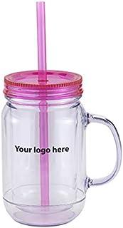 Caden Concepts Mason Master - 20 oz Double Wall Plastic Mason jar GSI - 48 Quantity - $9.29 Each - Promotional Product/Bul...