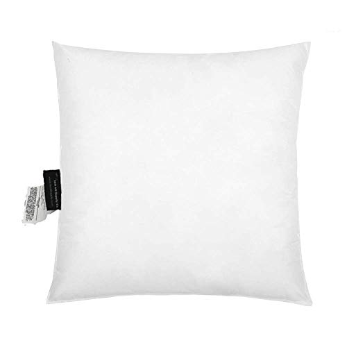 """IZO All Supply Square Sham Stuffer Hypo-Allergenic Poly Pillow Form Insert Throw Pillow, 18"""" L x 18"""" W"""