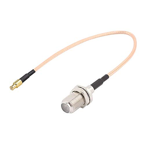 RG316 Coaxial Cable Coaxial, Tengko 15cm Adaptador de Antena Wifi MCX Macho Interruptor Directo a F Femenino Jack Pigtail Cable