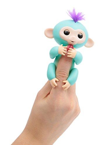Giochi Preziosi Wowwee Fingerlings Scimmiette Bebè, Scimmia Interattiva, Colori Assortiti