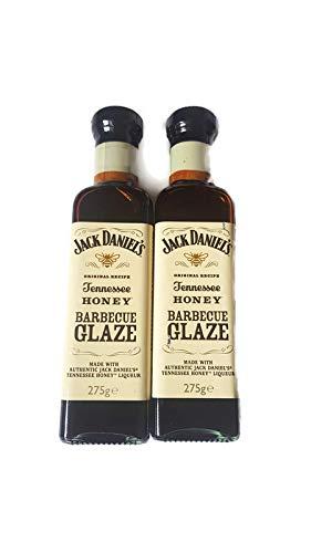 Jack Daniels Tennessee Honey Barbacoa Glaze 2 botellas