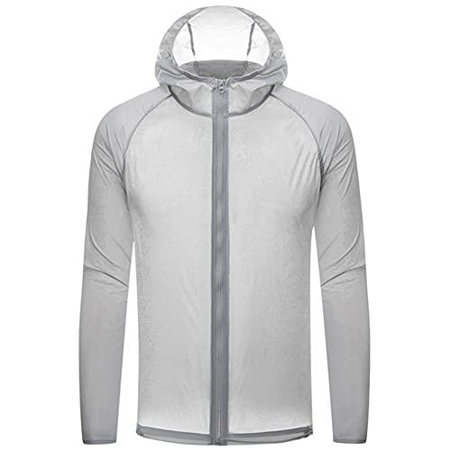 Ropa de proteccin solar para mujer chaqueta deportiva delgada impermeable de secado rpido