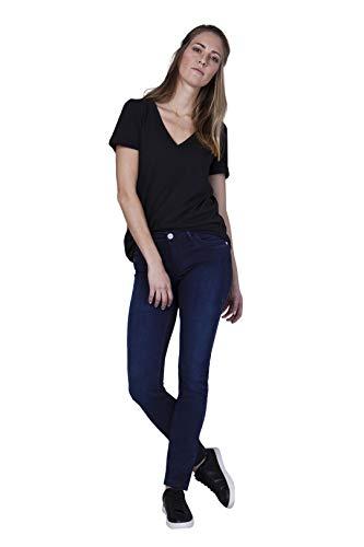 BlueFire Damen Jeans Nancy Tight Bfine Slim Fit Blueblack (84) 26/30