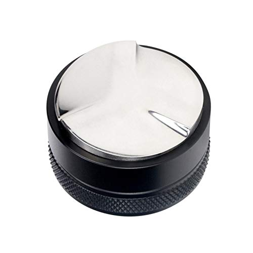 HUNDU 53mm Dystrybutor kawy ze stali nierdzewnej Regulowany Wysokość Wyrównawcza Kawa Narzędzie Espresso Tamper Fit do ekspresu do kawy Portafilter