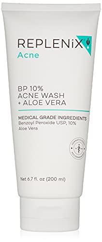 Replenix 10% Benzoyl Peroxide Wash with Aloe Vera