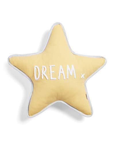 Mamas & Papas Cushion, Yellow, Dream Star