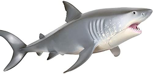 BAIMENGLONG Philadelphia Mall Animal Sea Life Animals Super Special SALE held Great White Model Shark PVC