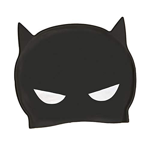 Zoggs Cuffia, Batman 3D Silicone cap Gioventù Unisex, 6-14 Anni