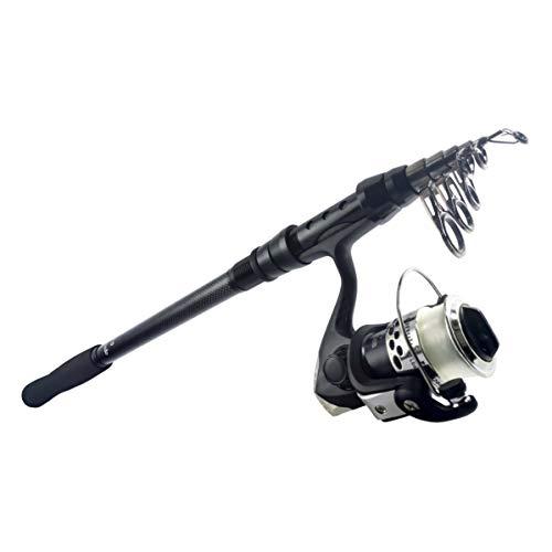 オルルド釣具 コンパクトフィッシングロッド 「ファミルドA」 & スピニングリール「puchi200」(3号糸付き) セット <ファミリーフィッシング・さびき・ちょい投げなどライトな釣りに/そのまま使える振出竿とリールのセット>(竿サイズ:2.7m / リ