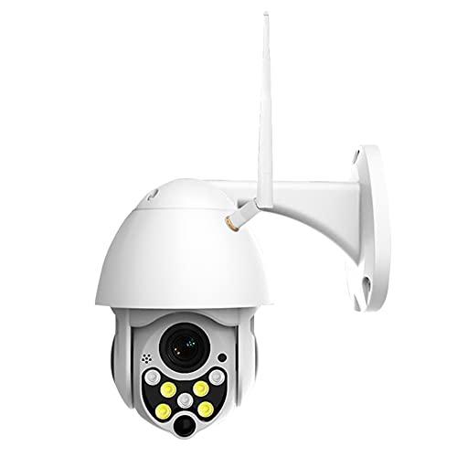 Xuebai Cámara de seguridad HD 1080P 7 LED mini WiFi cámara IP cámara visión nocturna detección de movimiento a todo color