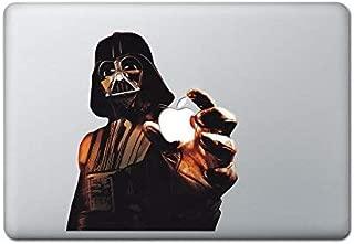 Darth Wader Decal Star Wars Sticker Color Holding Apple Lightsaber with Trackpad MacBook Decal Vinyl Sticker Apple Mac Air Pro Retina Laptop Sticker