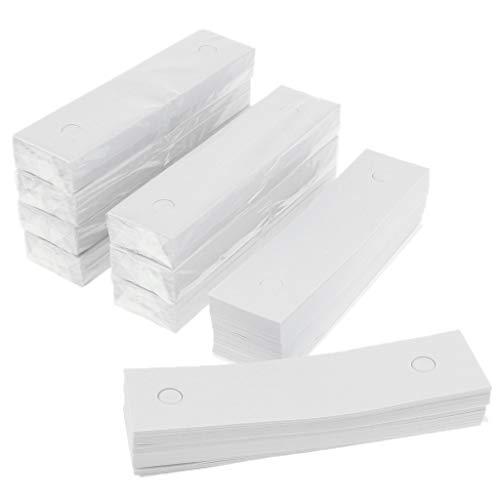 Hellery 10 Paquetes De Papel De Soporte De Barbilla óptica Para Equipos Oftalmológicos 350 Hojas Por Paquete
