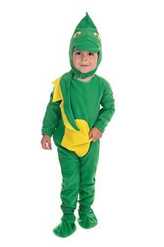Bristol Novelty Costume da Dinosauro per Bambini Età 2-3 anni