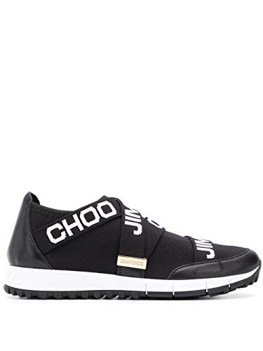 Luxury Fashion | Jimmy Choo Dames TORONTOXKEBLACK Zwart Stof Sneakers | Seizoen Outlet