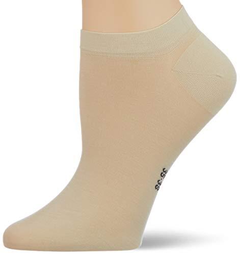 FALKE Damen Fine Softness W SN Socken, Beige (Cream 4019), 39-42 (UK 5.5-8 Ι US 8-10.5)