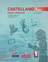 CASTELLANO, LENGUA Y LITERATURA 1 ESO - Pack de 3 libros - 9788480253840
