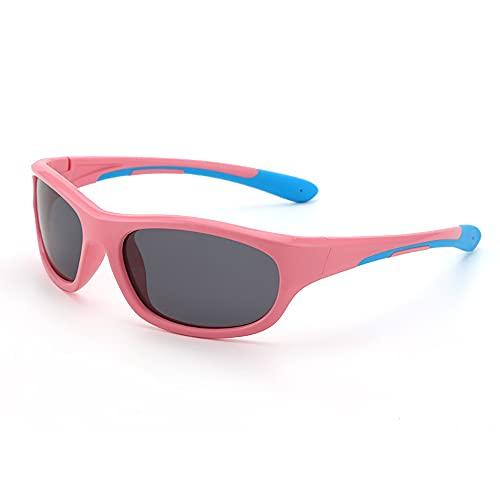 Zqyuboo Gafas De Sol para Niños, 100% Protección UV TR90 Gafas De Sol para Niños, Gafas De Sol para Niños I Gafas De Ciclismo para Niños Y Niñas (3-12 Años)
