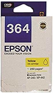 [Original] Epson T364 Black Cyan Magenta Yellow Ink Cartridge for Expression Home Inkjet All-in-One Printer XP245 / XP442 ...