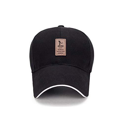 Berretto da Baseball Cappello cap Snapback Cappellini da Baseball Traspiranti in Cotone da Uomo 10 Colori Cappelli Casual Casual Regolabili Moda Tinta Unita Snapback Regolabile Hc003-6-07