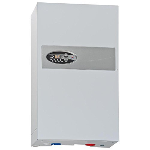 instalación de calefacción central de caldera de calefacción eléctrica flujo de agua caliente de 8 kW de potencia