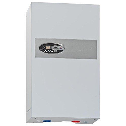 instalación de calefacción central de caldera de calefacción eléctrica flujo de agua caliente de 18 kW de potencia