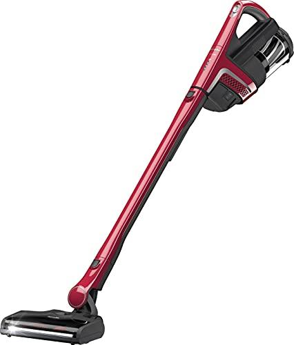 Miele Triflex HX1 Aspirapolvere Senza Fili 3 in 1, Scopa Elettrica per Pavimenti, Tappeti e Mobili, con Spazzola Elettrica XXL, Autonomia fino a 60 Minuti, 185 W, 80 dB, Rosso Rubino