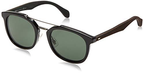 Hugo Boss Boss 0815/F/S 85 Raj Gafas de sol, Negro (Black Dkbrwn/Grey Green), 53 Unisex-Adulto