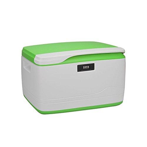 Locking Combination Medicine Box Child Proof Storage Container