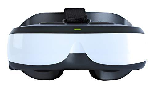 VISIONHMD Bigeyes H3 tragbare Video-Brille mit 2,5 K Äquivalent Bildschirm mit HDMI-Eingang, eingebauter Akku