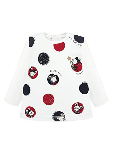 Mayoral 19-02012-082 - Camiseta Manga Larga para bebé niña 24 Meses