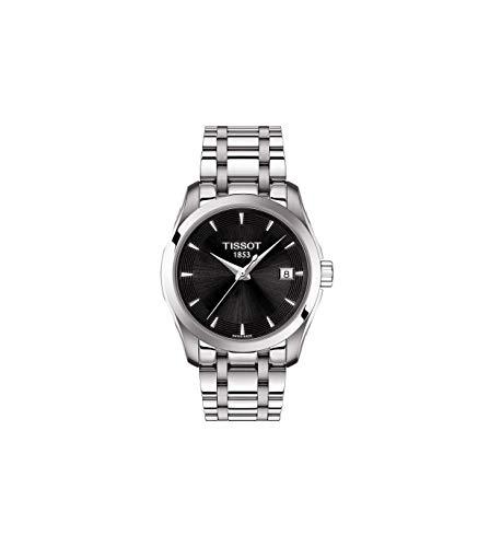 Tissot Damen-Uhren Analog Quarz One Size Edelstahl 87645151