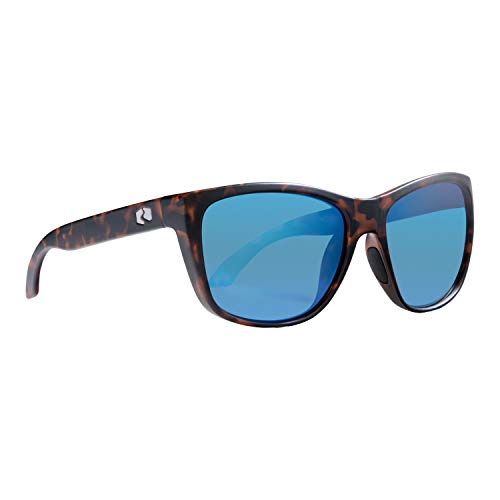 Rheos Sapelos Floating Polarized Sunglasses | 100% UV Protection | Floatable Shades | Ideal for Fishing and Boating | Anti-Glare | Unisex | Tortoise | Marine
