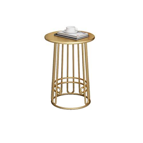 XZGang Décoratif Jardinière, une seule couche Marbre Texture Small Round Table métal Hôtel Chambre Balcon Flower Shop Table basse vie simple (Color : A2, Size : 40 * 60CM)