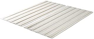 Zinus Annemarie Solid Wood Bed Support Slats / Fabric-Covered / Bunkie Board, Queen