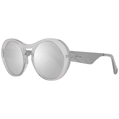 Roberto Cavalli RC 1109 21C - Gafas de sol, color blanco y gris