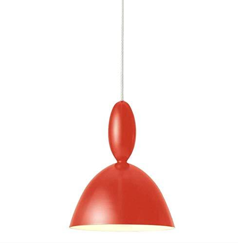 lampen Nordic moderne kroonluchter eenvoudige persoonlijkheid restaurant bar slaapkamer bedlampje ijzer instelbare macarons trompet enkele kop verlichting 20x31 cm, geel