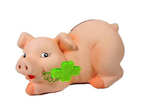 Spardose Schwein 9 x 12 cm Sparschein Schweinchen Figur Deko GODE C24