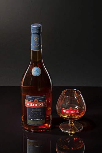 Wilthener NR. 1 , Brandy in X.O.-Qualität, Spirituose 38% vol., Branntwein der Spitzenklasse (1 x 0.7 l) - 3