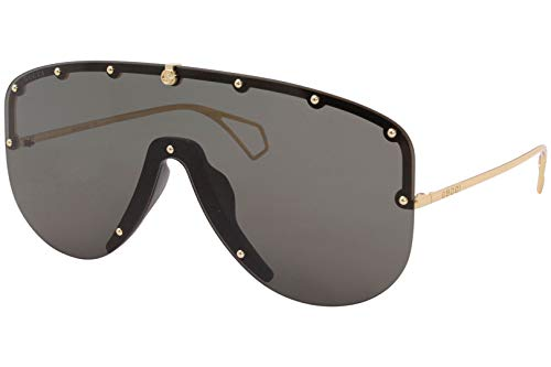 Gucci Gafas de Sol GG0667S GOLD/GREY 99/1/140 hombre
