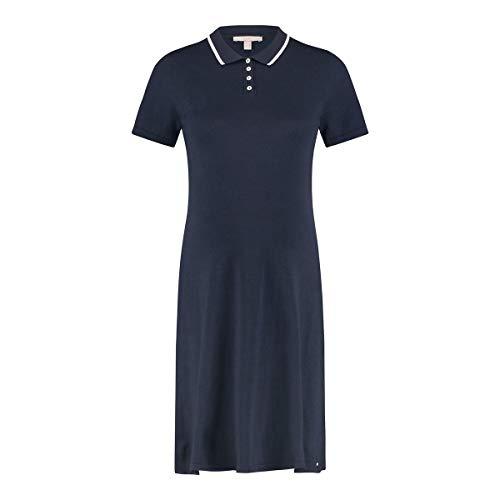 ESPRIT Maternity Damen Dress Knit Ss Kleid, Blau (Night Blue 486), 44 (Herstellergröße: XX-Large)