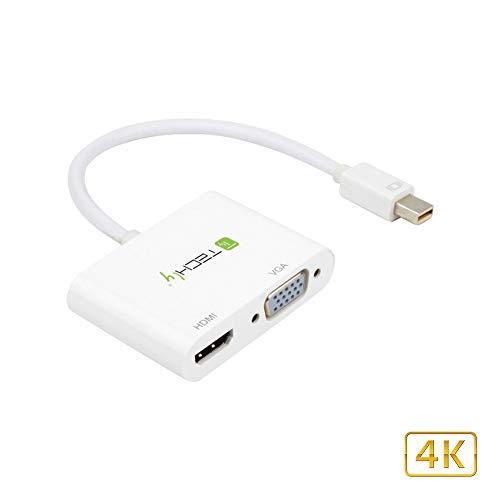Techly Adapter - Mini DisplayPort-naar HDMI/VGA