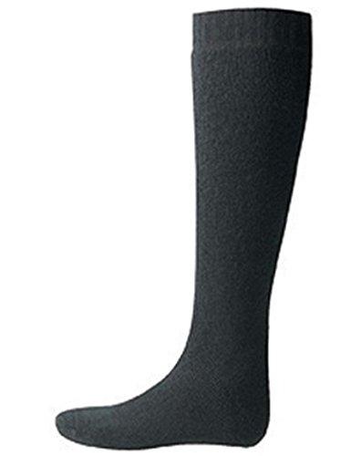 Woolpower Unisex Kniestrümpfe Merinowollsocken 600, Farbe:schwarz, Größe:40-44