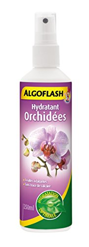 ALGOFLASH Hydratant Orchidées, Vaporisation 1 xfois par jour, 250 ml, AORCHYDRA250N