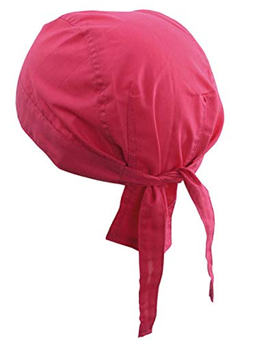 Alex Flittner Designs Bandana Cap unifarben pink